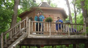 Sleep Underneath The Forest Canopy At This Epic Treehouse In Minnesota