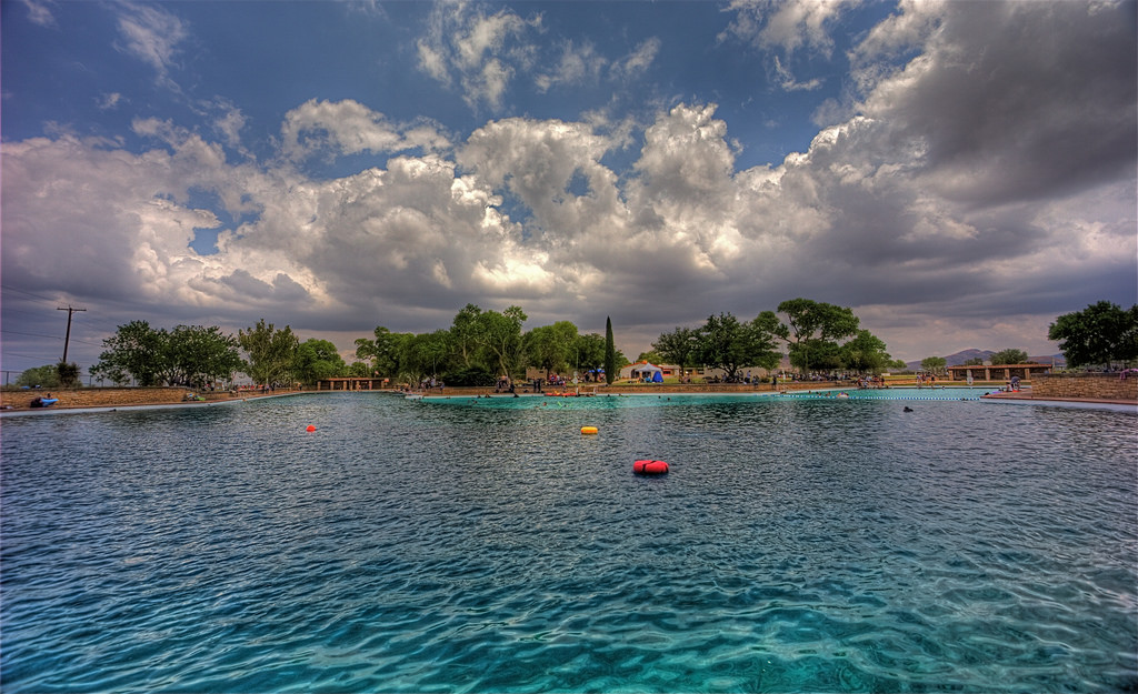 The largest natural spring fed swimming pool in the world - Washington park swimming pool milwaukee ...