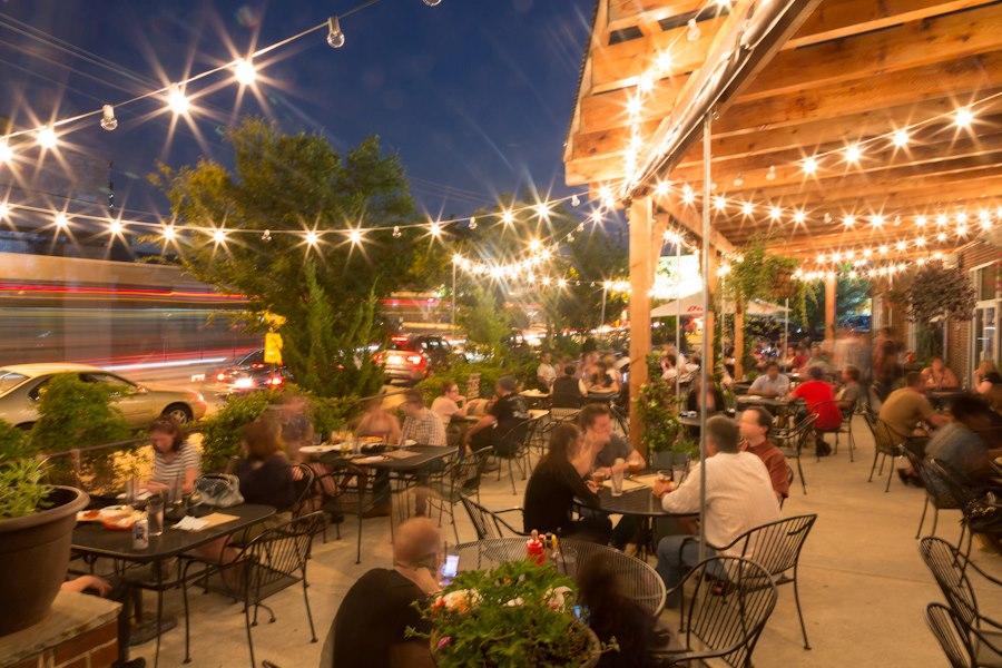 New Outdoor Restaurant Memphis On Carolina Street