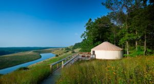 The Secluded Glampground In Ohio That Will Take You A Million Miles Away From It All