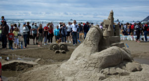 You Won't Want To Miss This Epic Sandcastle Festival On The Oregon Coast