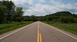 A Drive Down Ohio's Loneliest Road Will Take You Miles And Miles Away From It All