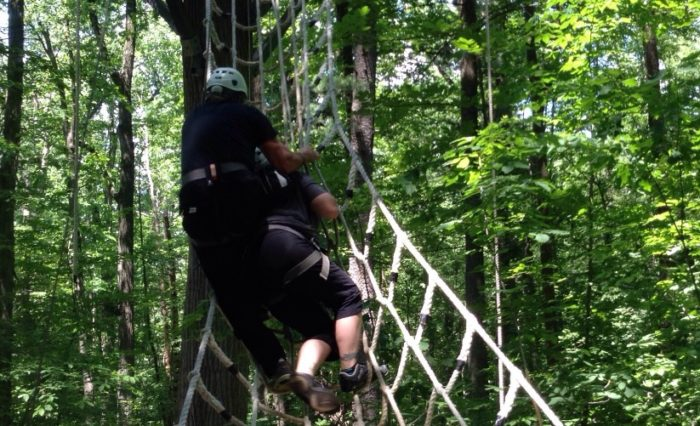 Securely fasten your harness and complete basic training before you embark on one of the featured canopy courses that will allow you to zip through the ... & Spring Mountain Adventures Boasts An Epic Canopy Course In ...