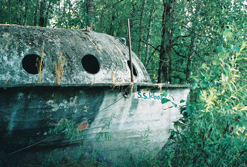 The Mysterious Abandoned Ufo Boat In Oregon