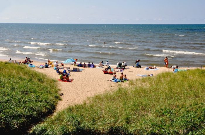 If Nature Is More Your Sd You Re In Luck Spend The Afternoon Lounging On Breathtaking Ss Of Lake Michigan At Douglas Beach Park
