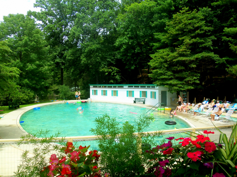 Capon Springs Resort In West Virginia Has An Incredible Spring Fed Pool