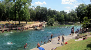 The Incredible Spring-Fed Pool In Texas You Absolutely Need To Visit