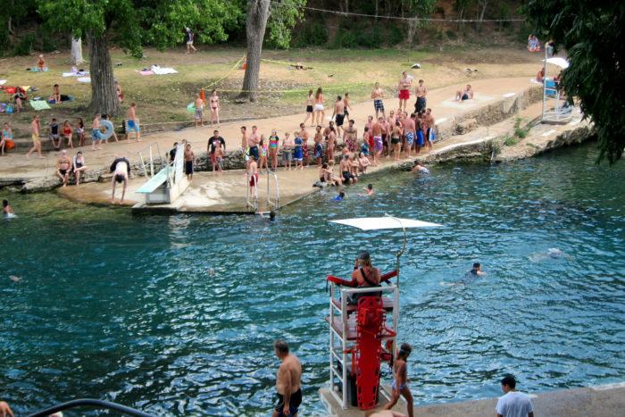 Barton Springs Pool In Austin Is The Best Spring Fed Pool In Texas
