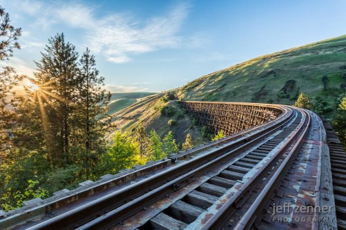 Abandoned Camas Prairie Railroad - Idaho