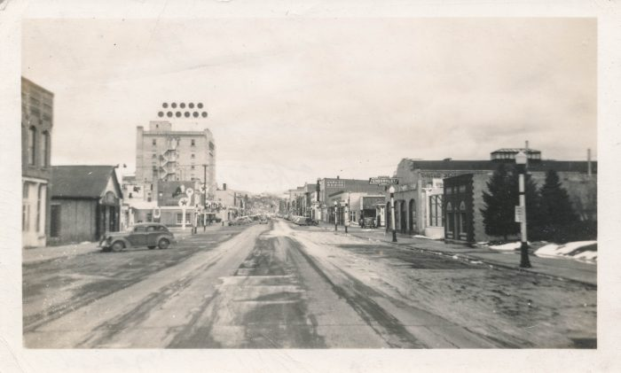4 Wow This Is A Rare Shot Of Main Street In Bozeman The Late 1930s