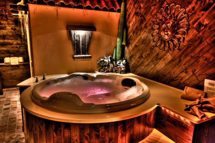 For The Rooms Themselves Each Luxurious Suite Comes Equipped With A Jacuzzi Tub Two