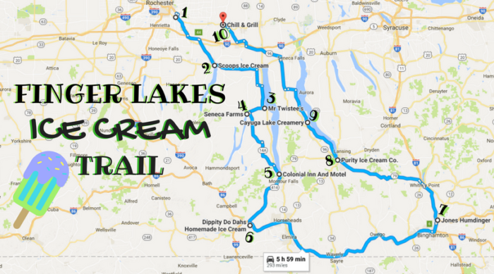The Ultimate Ice Cream Trail Through The Finger Lakes In New York