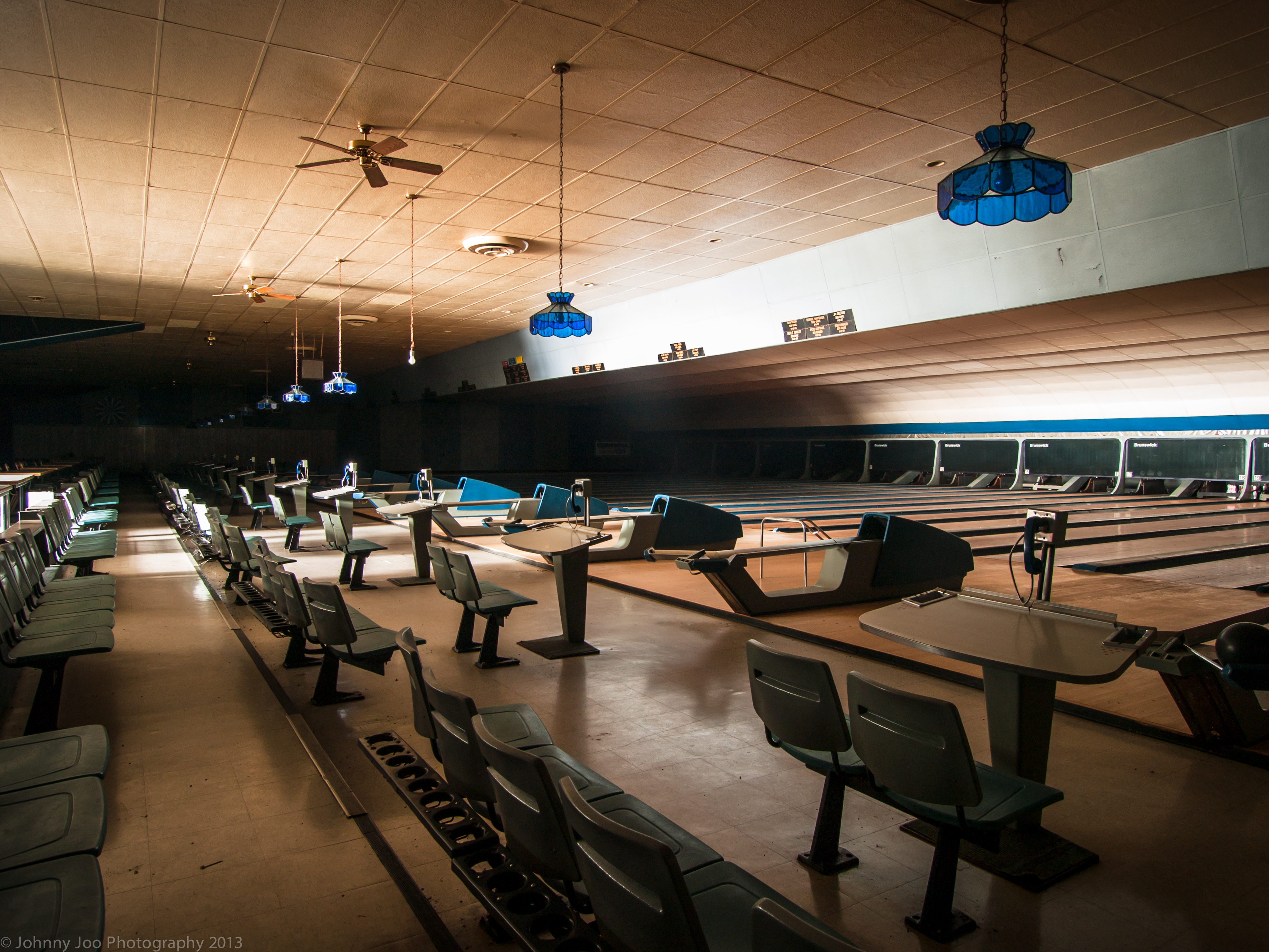 The Pins Are Still Standing At This Abandoned Bowling