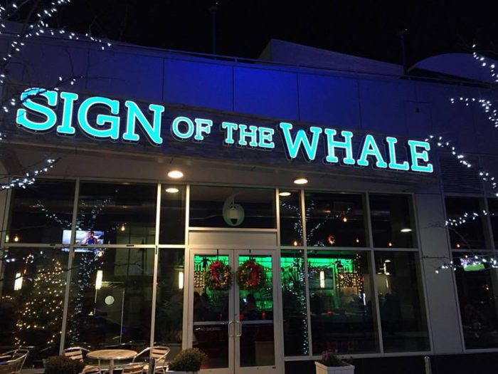 Sign Of The Whale In Connecticut Has Epic Rooftop Dining