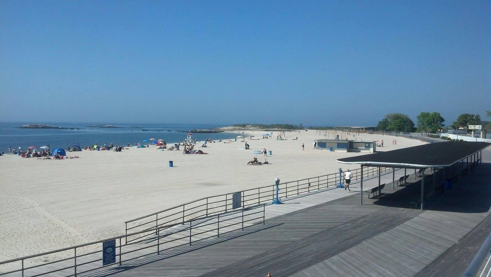 Ocean Beach Park In Connecticut Has The Whitest Sand