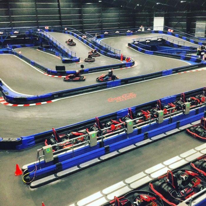 Go Kart Dallas >> Naskart In Connecticut Has The World's Largest Indoor ...