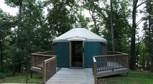 Spend The Night In A Yurt At This Gorgeous Missouri State Park