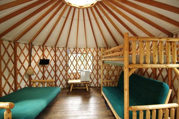 Lake Ozark Missouri >> You'll Want To Spend The Night In A Yurt At This Gorgeous ...