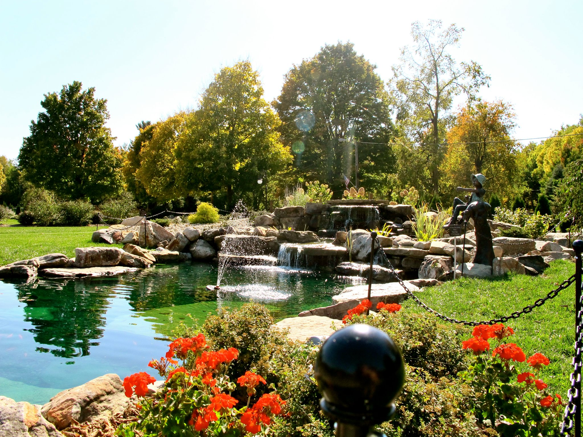 9 of the most beautiful small parks in indiana - Towne place at garden state park ...