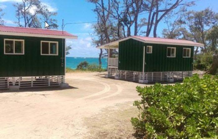 Oahu 39 s malaekahana campground is a beautiful hidden gem for Cabins in oahu