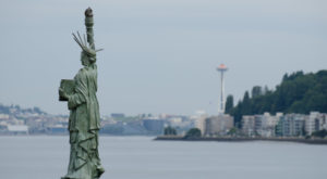 Most People Don't Know There's A Little Statue of Liberty In Washington