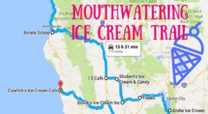 There's Nothing Better Than This Mouthwatering Ice Cream Trail In Northern California