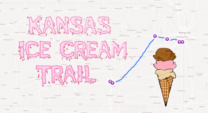 This Mouthwatering Ice Cream Trail In Kansas Is All You Ve Ever