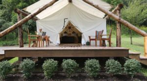 The Secluded Glampground In Kentucky That Will Take You A Million Miles Away