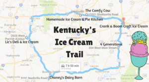 This Mouthwatering Ice Cream Trail In Kentucky Is All You've Ever Dreamed Of And More