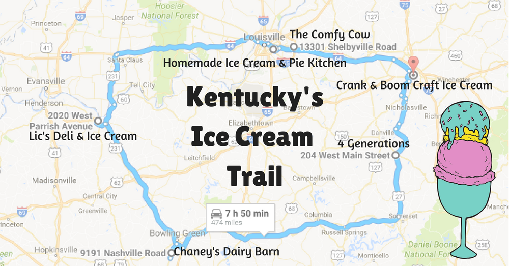 A Mouthwatering Ice Cream Trail In Kentucky