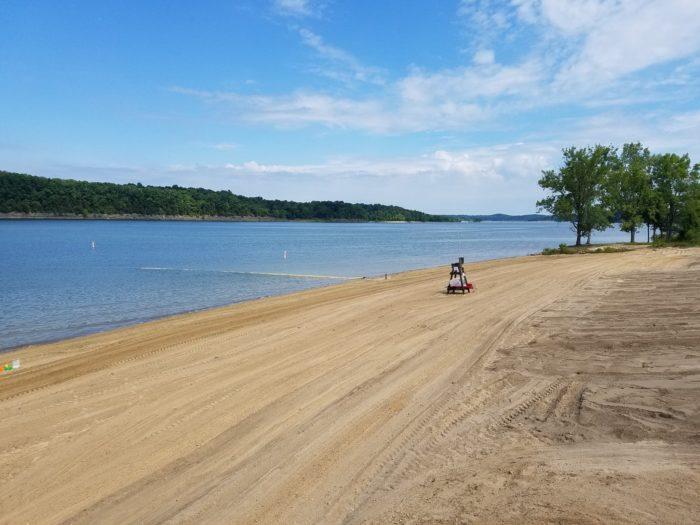 Lake Barkley State Resort Park Beach