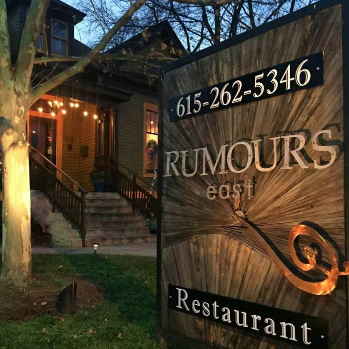 12. Rumours East Restaurant