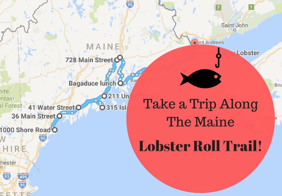 There's Nothing Better Than This Mouthwatering Lobster Roll Trail In Maine
