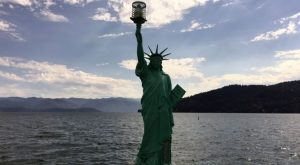 Most People Don't Know There's A Little Lady Liberty In Idaho
