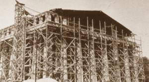 10 Stunning Photos Of The Parthenon Construction In Nashville