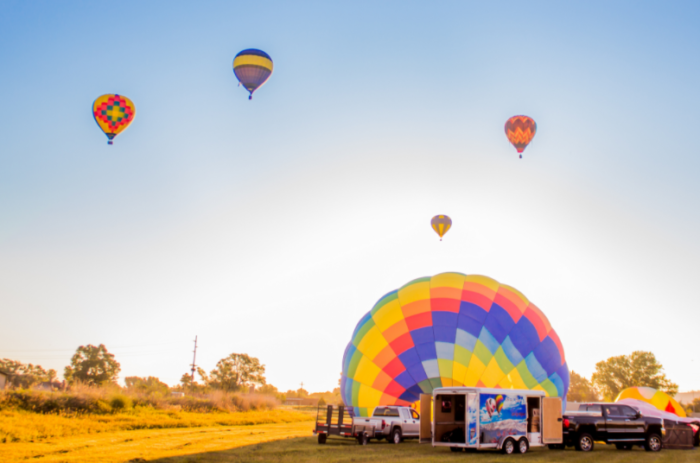 the big sky international balloon rendezvous is a unique festival in
