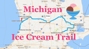 This Mouthwatering Ice Cream Trail In Michigan Is All You've Ever Dreamed Of And More