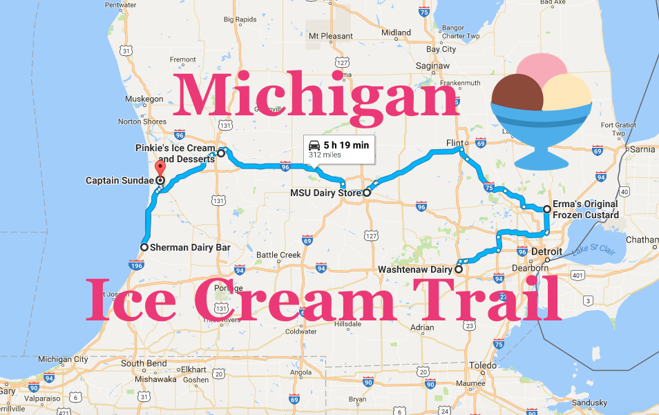visit 6 of michigan u0026 39 s best ice cream shops on this fun ice