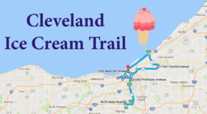 This Mouthwatering Ice Cream Trail In Cleveland Is All You've Ever Dreamed Of And More