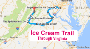 There's Nothing Better Than This Mouthwatering Ice Cream Trail In Virginia