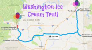 This Mouthwatering Ice Cream Trail In Washington Is All You've Ever Dreamed Of And More