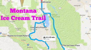 This Mouthwatering Ice Cream Trail In Montana Is All You've Ever Dreamed Of And More