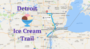 This Mouthwatering Ice Cream Trail In Detroit Is All You've Ever Dreamed Of And More
