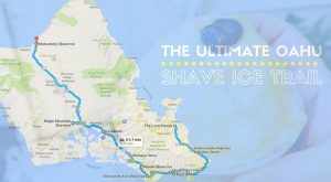 There's Nothing Better Than This Mouthwatering Shave Ice Trail In Hawaii
