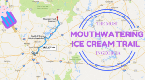 This Mouthwatering Ice Cream Trail In Georgia Is All You've Ever Dreamed Of And More