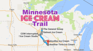 This Mouthwatering Ice Cream Trail In Minnesota Is All You've Ever Dreamed Of And More