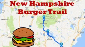 There's Nothing Better Than This Mouthwatering Burger Trail In New Hampshire
