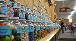 The Longest Candy Counter In The World Is Right Here In New Hampshire
