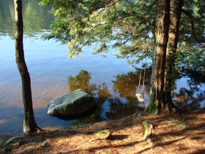 Pawtuckaway state park is the most beautiful campground in for Cabin camping new hampshire