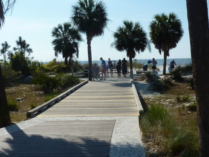 Coligny Beach Park Has The Whitest Most Pristine Sand In